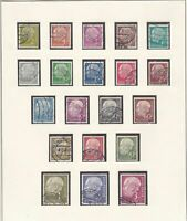 germany 1954 used stamps ref 10914