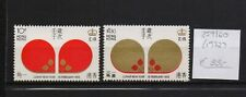 !  Hong Kong 1972.  Stamp. YT#259/260. €33.00!