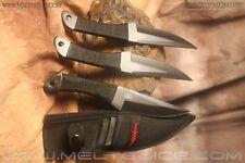 Gil Hibben Large Throwing Knife Triple Set /knives/Kit Rae/Hunger Games /Daggers