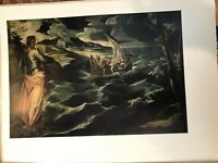 """National Gallery of Art, Tintoretto """"Christ at the"""" Print, 11"""" x 14 1/2"""" (Paper)"""