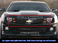 SS 1.8mm Black Mesh Grille For 2010-2013 Chevy Camaro Short W/Logo LT/LS/RS/SS