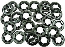 "GM Brake Drum Push Nut Retainer Clips- Fits 1/2"" Wheel Studs- 25 pcs- #007"