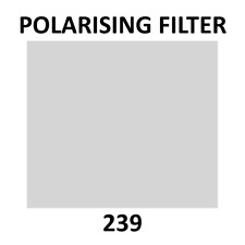 Lee Filters 239 Linear Polariser Filter Sheet 19 x 12 Inch