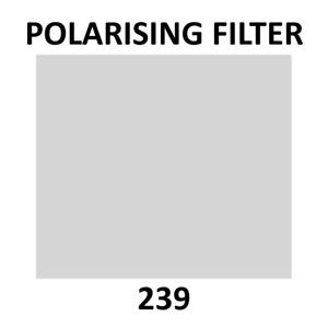 Lee Filters 239 Linear Polariser Filter Sheet 19 x 12 Inch