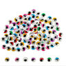 100PC Coloured Eyelashes Wiggly Wobbly Googly Eyes Lash   (Color: Multicolor)  V