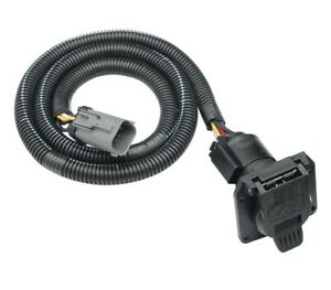7-Way RV Trailer Wiring Kit For 99-01 Ford F-250 350 450 550 Super Duty w/4-Flat
