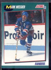 NEW YORK RANGERS 1991/92 SCORE ROOKIE TRADED TEAM SET 4 CARDS MARK MESSIER ++