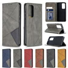 Splice Wallet Leather Flip Case Cover For Huawei Y5P Y6P Y7P Y7 2019 Y5 2019 P40