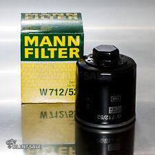 MANN + HUMMEL W712/52 sonderpreis ÖLFILTER NEU ORIGINAL