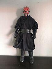 "FIgurine Figure Star Wars Phantom Menace Fantome Darth Dark Maul 30 cm 12"" inch"