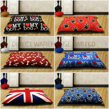 LEO Dog Pet Bed Pillow Cushion Adoreable Zipped Remoboveable Soft Washable Cover