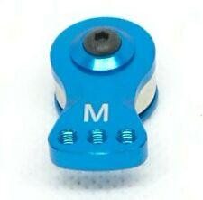 Servo Saver 25T M3 blue Aluminum Futaba Savox tamiya Hpi see listing