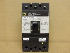 Square D Kal Kal36225 3 pole 225 amp 600v Circuit Breaker Gray Label Flawed Ur
