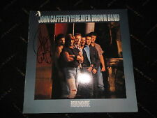 """John Cafferty and the Beaver Brown Band signed """"Tough All OVer"""" record ROCKY LP"""