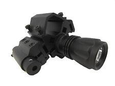 Tactical Tri Rail Barrel Mount + Red Laser + Flashlight For Mossberg 500 590 835