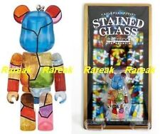 Medicom Be@rbrick 2012 Stained Glass 100% Unbreakable Clear Bearbrick 1P