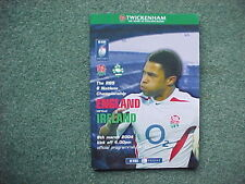 2004 England v Ireland - RBS 6 Nations Championship - EXCELLENT Condition