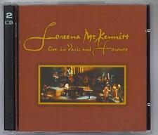 LOREENA McKENNITT - LIVE IN PARIS & TORONTO - MINT 2CD SET - 1997