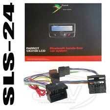 Parrot ck3100 Mains-Libres + VW AUDI SEAT SKODA ab2003 Fse Radio ISO Adaptateur