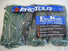 NEW ProTour Dark Green Fur-Knit Oversized Golf Club Headcover w/tags (Rd712)
