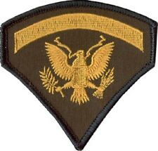 United States Army Spec 5 - Military Patch - Specialist Five Rank Sp5