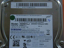 500 GB Samsung Spinpoint HD501LJ / PN: 410111CQ802211 / 2008.08 Hard Disk Drive