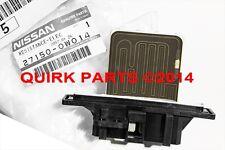1996-2004 Nissan Pathfinder | Blower Motor Fan Resistor HVAC OEM NEW Genuine