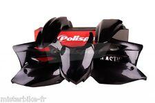 Kit plastiques Coque Polisport  Kawasaki KX450F  2013-2015   Couleur:  Noir