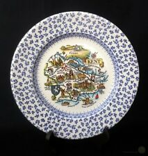 English Ironstone Blue And White Chintz Kent Plate 14.5cm   FREE Delivery UK*