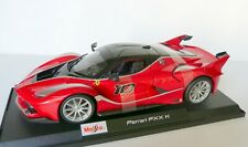 Ferrari FXX K Red Silver Accents Racing 1:18 Maisto Special Edition