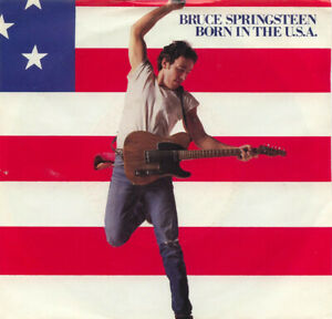 """Bruce SPRINGSTEEN Born In USA b/w Shut Out Orig. 1984 US 7"""" VINYL Record New +PS"""
