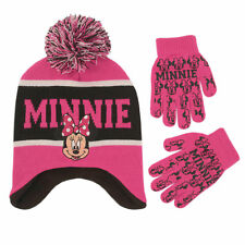 Disney Minnie Mouse Hat & Glove Cold Weather Set, Little Girls, Age 4-7