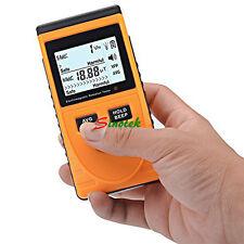 Digital LCD detector de radiación electromagnética Medidor dosímetro Contador + batería