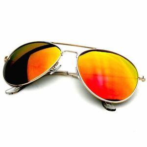 SUNGLASSES Mens Womens Retro Vintage Reflective Mirror Mirrored Lens Sunglasses