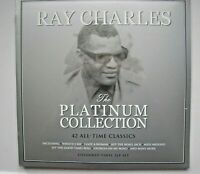 RAY CHARLES The Platinum Collection UK triple LP 2019 new mint sealed vinyl
