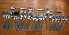 CREATION Rogers Cutlery / International Silver IS Stainless Flatware Lot