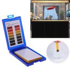 1-14 PH Test Paper Tropical Aquarium Fish Tank Water Testing Kit 80pcs