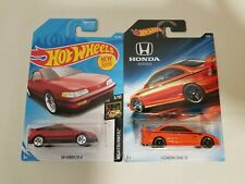 Hotwheels Honda Civic Si & CR-X ( LOT OF 2 )