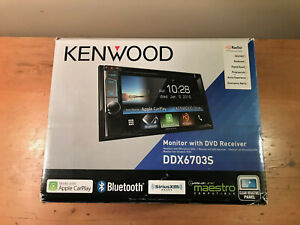 *USED* Kenwood DDX6703S In-Dash Monitor, Radio, Bluetooth and CarPlay Compatible