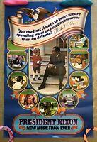 President Nixon 1972, Vintage Poster (Signed)