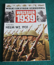 Polish army HELMET wz. 31 1931 BOOK - Made in Ludwikow Silesia WWII september 39