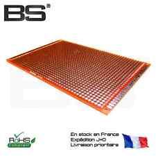 Carte prototypage double face 1.6mm 8 x 12 cm 80 x 120 PCB proto