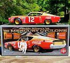 SIGNED Bobby Allison #12 Coca-Cola 1969 NASCAR Univ of Racing 1:24 DieCast