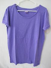 NWOT Victoria's Secret Oversized Loose Fit Purple Boyfriend Tee (XS) FREE SHIP