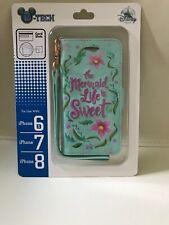 NIB Disney Parks Little Mermaid Phone Case I Phone 6S, Iphone 7 Or Iphone 8