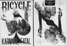 Karnival Fatal Bicycle Playing Cards Poker Size Deck USPCC Custom Limited