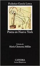 Poeta en Nueva York. NUEVO. Envío URGENTE. POESIA (IMOSVER)