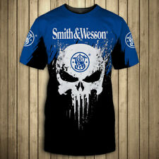 SMITH & WESSON-Top Gift-Men's shirts 3D- Size S to 5XL
