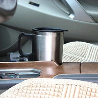 New Car Electric Heated Drink Travel Hot Coffee Tea Water Cup Mug Thermos Warmer