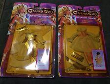 Lot of 2 Vintage Golden Girl Onyx Adventure Fashion NRFB